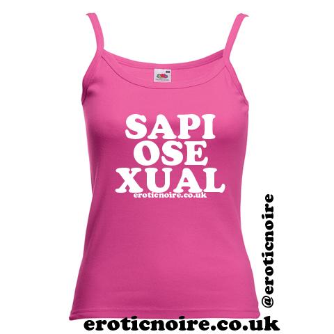 strappy vest - pink SAP