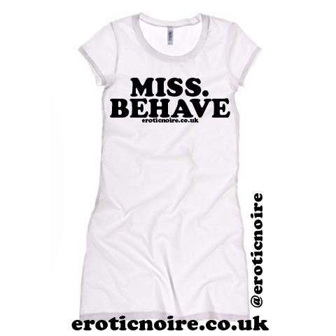 tshirt dress - wht words